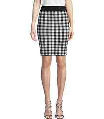 classic plaid skirt