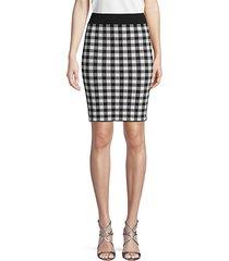classic plaid skirt