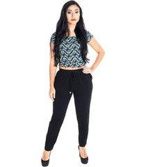 calça catwalk cordinha plus size cw20-013co - feminino