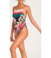 bikini one piece after sunset multicolor billabong