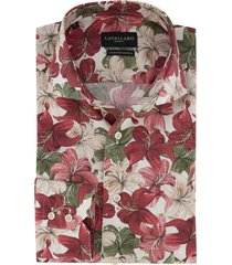 mouwlengte 7 cavallaro overhemd bloemen