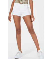 celebrity pink juniors' basic cuffed shorts