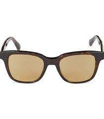 core 49mm square sunglasses