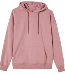 cotton on women's dad maxi peached hooded sweatshirt
