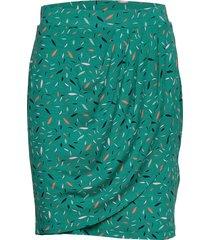 skirts knitted kort kjol grön esprit casual