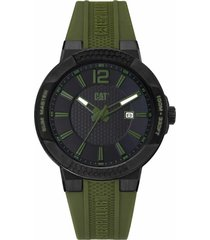 reloj verde cat shockmaster slim