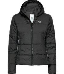 slim jacket gevoerd jack zwart adidas originals