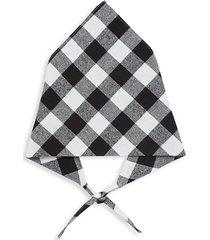 checkered cotton bandana