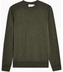 mens khaki twist essential sweater