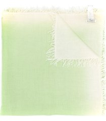 a.n.g.e.l.o. vintage cult '1990s knit scarf - green