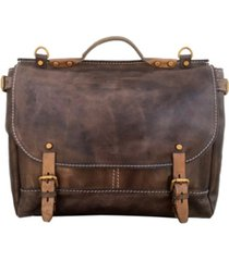 old trend sandstorm leather messenger bag