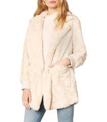 women's bb dakota swirl next door faux fur jacket