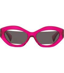 alain mikli x jeremy scott cat-eye sunglasses - pink