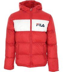 donsjas fila floyd puff hood jacket