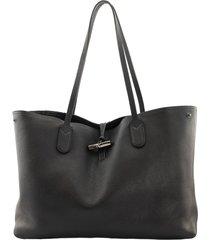 longchamp roseau - shoulder bag l