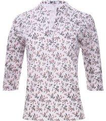 blusa 3/4 ramilletes color negro, talla s