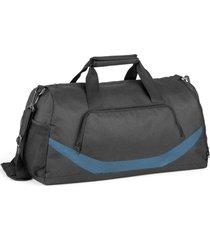 bolsa esportiva premium line topget preto e azul