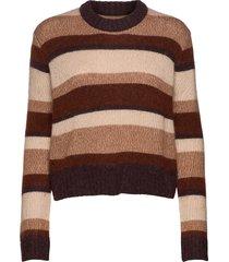 colana stickad tröja brun baum und pferdgarten