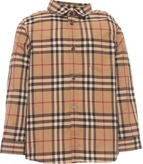 burberry icon check print t-shirt