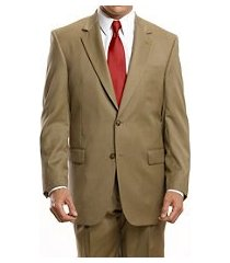 signature collection traditional fit men's suit with pleated front pants clearance by jos. a. bank