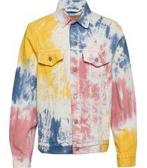 vintage fit trucker v. haight jeansjack denimjack multi/patroon levi´s men