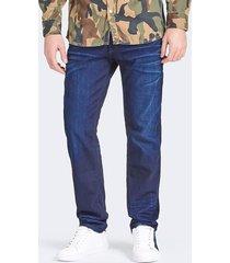jeansy z 5 kieszeniami fason regular