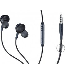 audífonos manos libres akg samsung galaxy s8, s9, s10 - negro