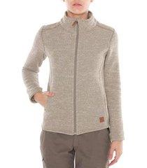 jaqueta térmica wooly vista feminina