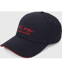 gorra azul-rojo tommy hilfiger