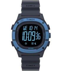 reloj casual azul timex