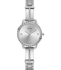reloj guess mujer bellini/gw0022l1 - plateado