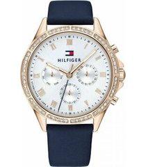 reloj azul tommy hilfiger 1782140 - superbrands