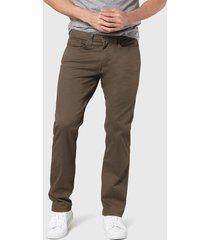 pantalón dockers cut straight marrón - calce straight fit