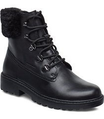j casey girl wpf c shoes boots ankle boots ankle boot - flat svart geox