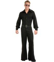 buyseasons men's studio jumpsuit black adult costume