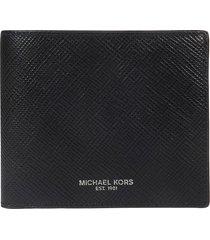 michael kors logo detail classic wallet