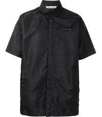 1017 alyx 9sm short-sleeve nylon shirt - black