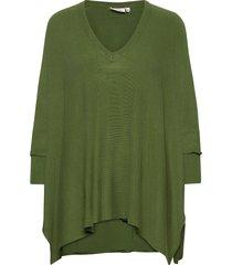 fosna stickad tröja grön masai