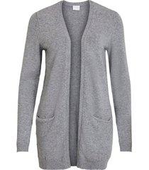 cardigan viril l/s open knit