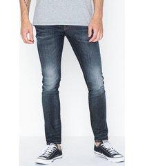 selected homme slhslim-leon 6164 d. blue st jns w jeans mörk blå