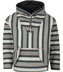 poncho puff pullover, grey