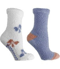 minxny women's soft fuzzy bow slipper socks, 5 pieces