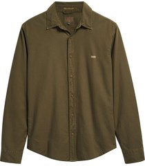 ls battery shirt slim olive