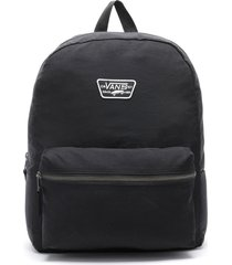 bolso expedition back blanco/negro vans