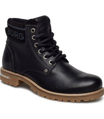 kevina mid tmb shoes boots ankle boots ankle boot - flat svart björn borg