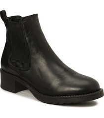 christina wool shoes chelsea boots svart pavement