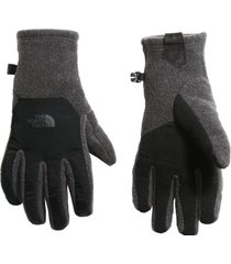 guantes denali etip gris the north face
