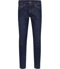 d1. tapered gant jeans slim jeans blauw gant