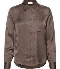 gitaka långärmad skjorta grå american vintage