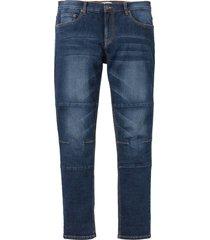 jeans elasticizzati regular fit tapered con taglio comfort (blu) - john baner jeanswear